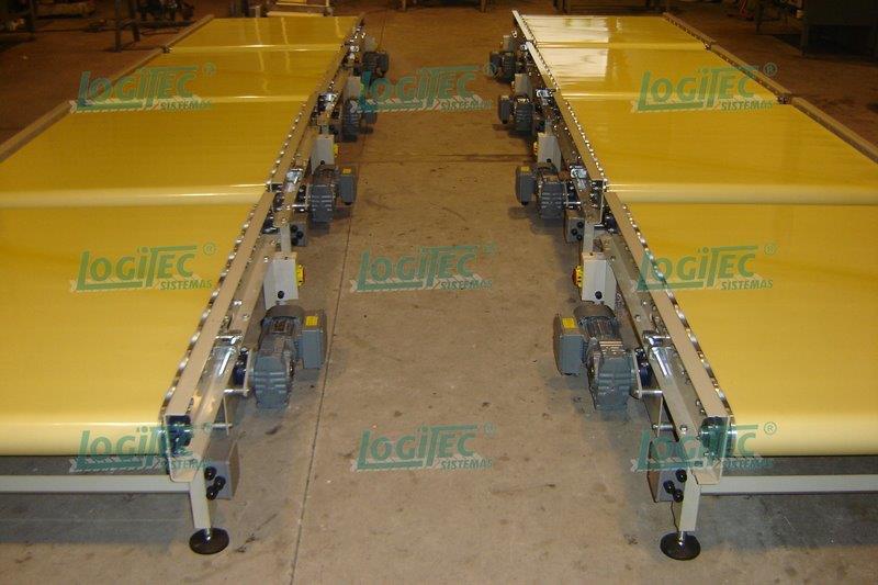 Sistemas de transportadores contínuos