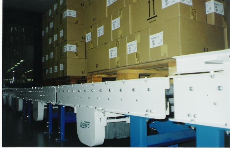 Transportadores para paletização