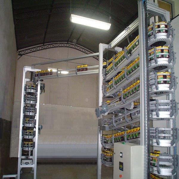 Transportadores para sistemas de automação